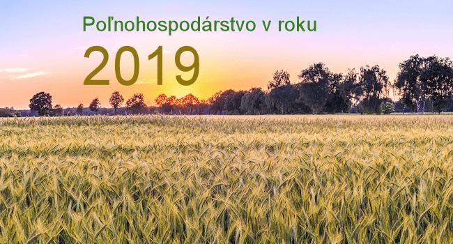 Pesticídy v roku 2019